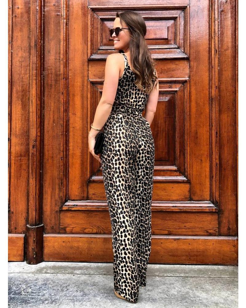 Fancy Leopard Jumpsuit