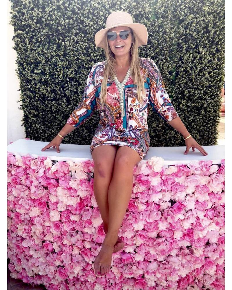 Ibiza Paisley Dress