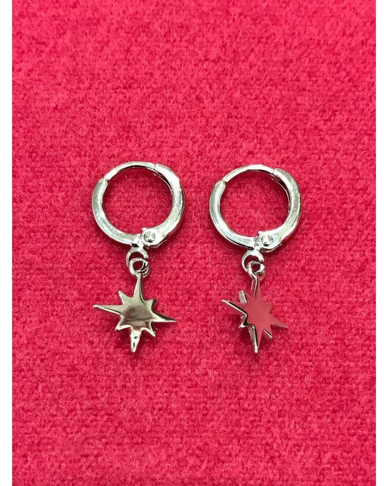 Sparkle Earrings - Silver