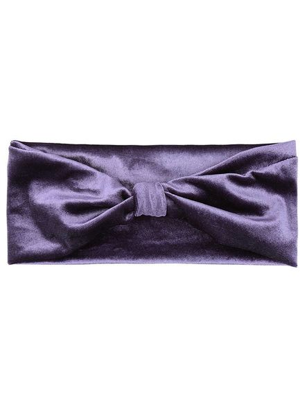 Velvet Headband - Purple