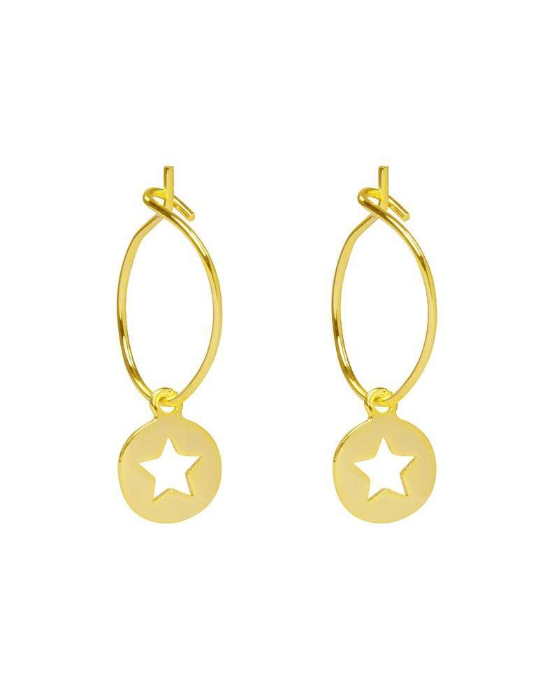 Twinkle Star Earrings - Gold