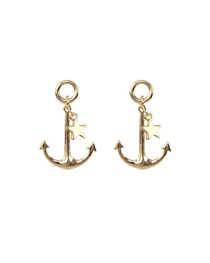 Sailor Dream Earrings - Gold