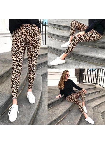Ultimate Comfy Leopard Legging - Brown