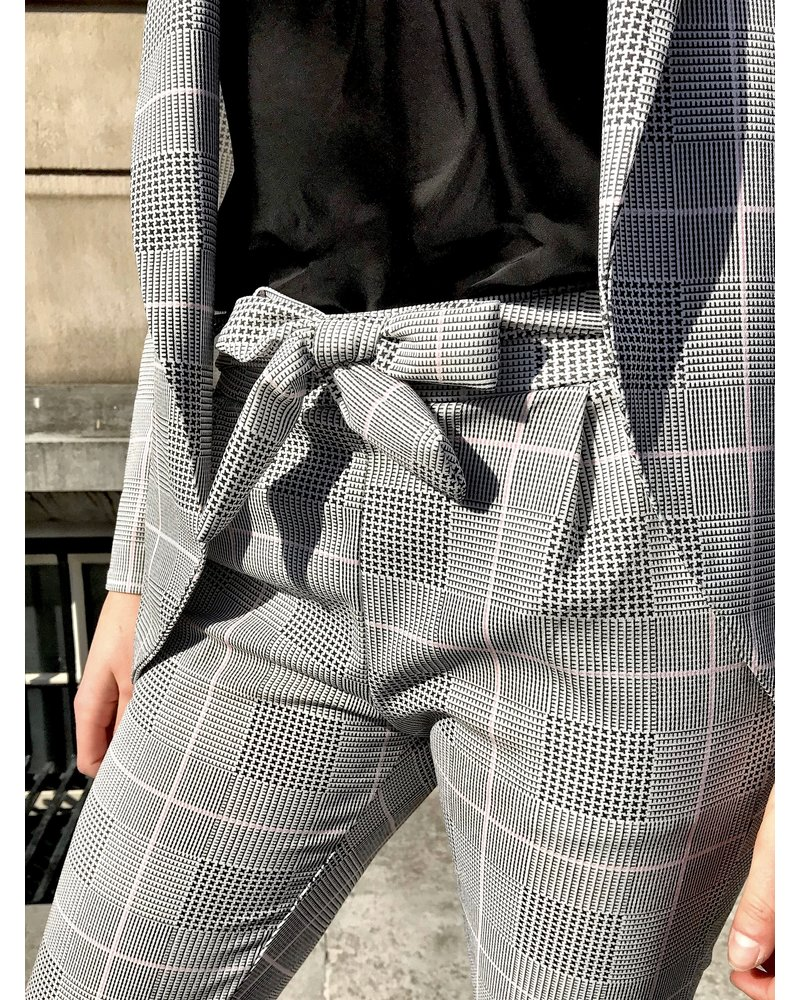 Checkered Summer Suit