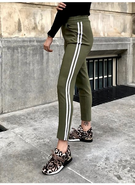 Comfy Sporty Jogging - Army Green