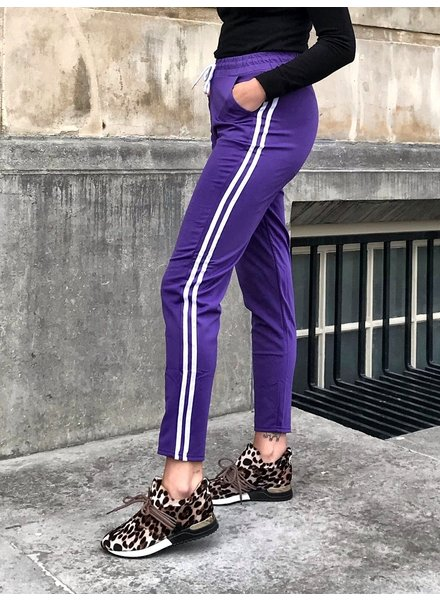Comfy Sporty Jogging - Purple