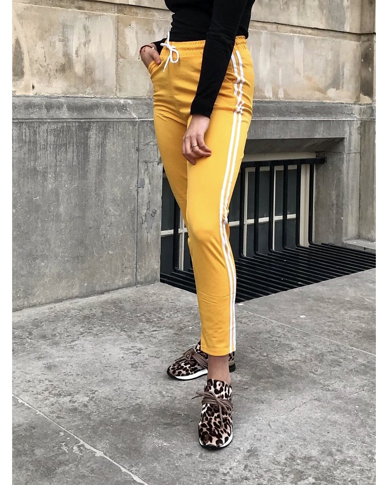 Comfy Sporty Jogging -  Yellow