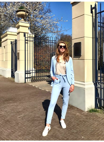 Stylish Summer Suit - Light Blue