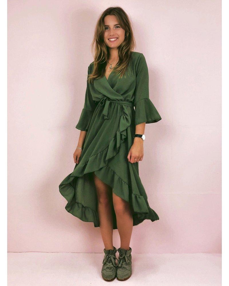 Ultimate Summer Dress - Armygreen