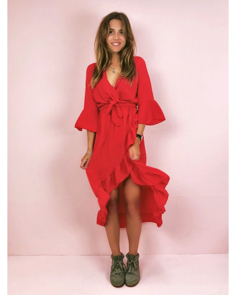 Ultimate Summer Dress - Red