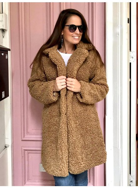 Teddy Coat - Camel