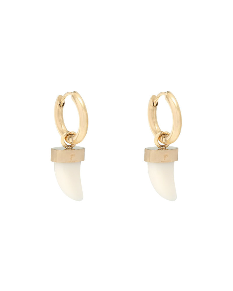 Bull's Eye Earrings - Gold