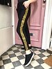 Army Striped Jogging - Black Yellow