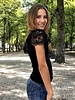 Perfect Lace Shirt - Black