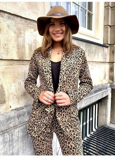 Leopard Suit - Brown