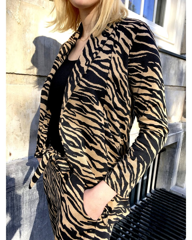 Zebra Suit - Brown