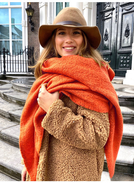 Most Comfy Scarf - Rusty Orange