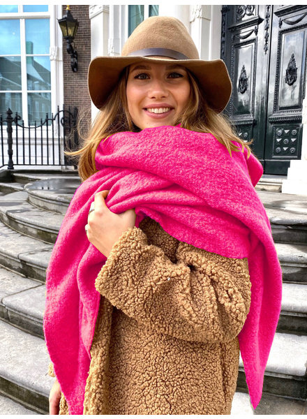 Most Comfy Scarf - Bright Pink