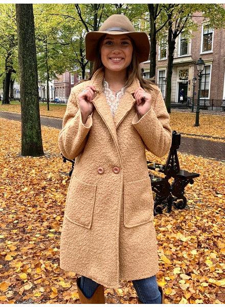 Chloe Teddy Coat - Beige