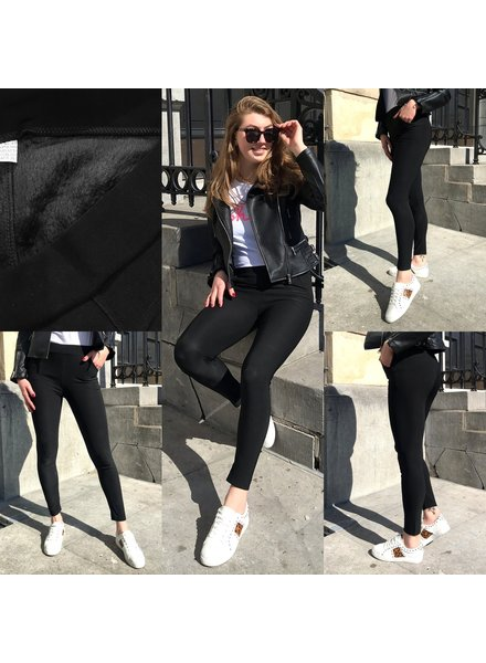 Perfect WINTER Black Pants - Black