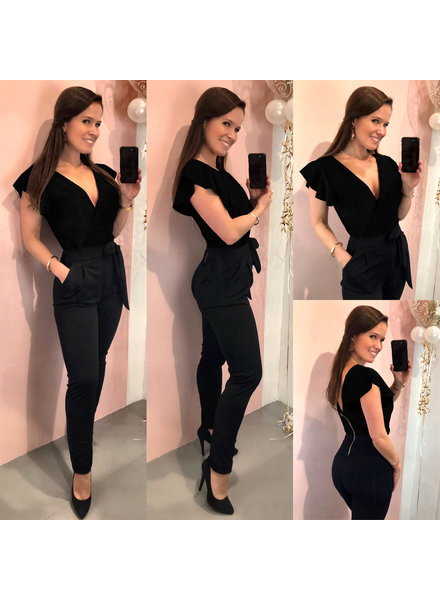 Party Jumpsuit - Totally Black
