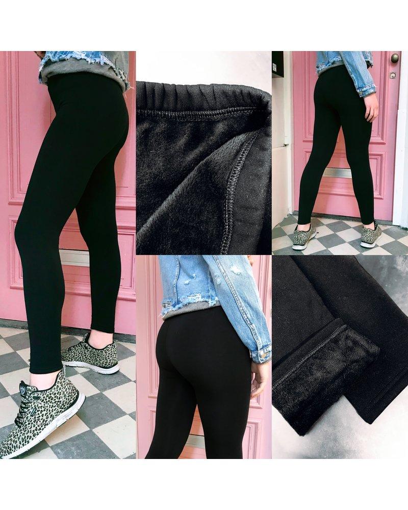 Comfy Black Winter Legging