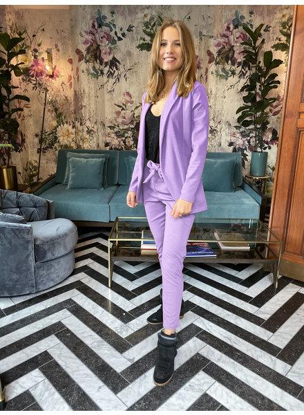 Stylish Suit - Lilac