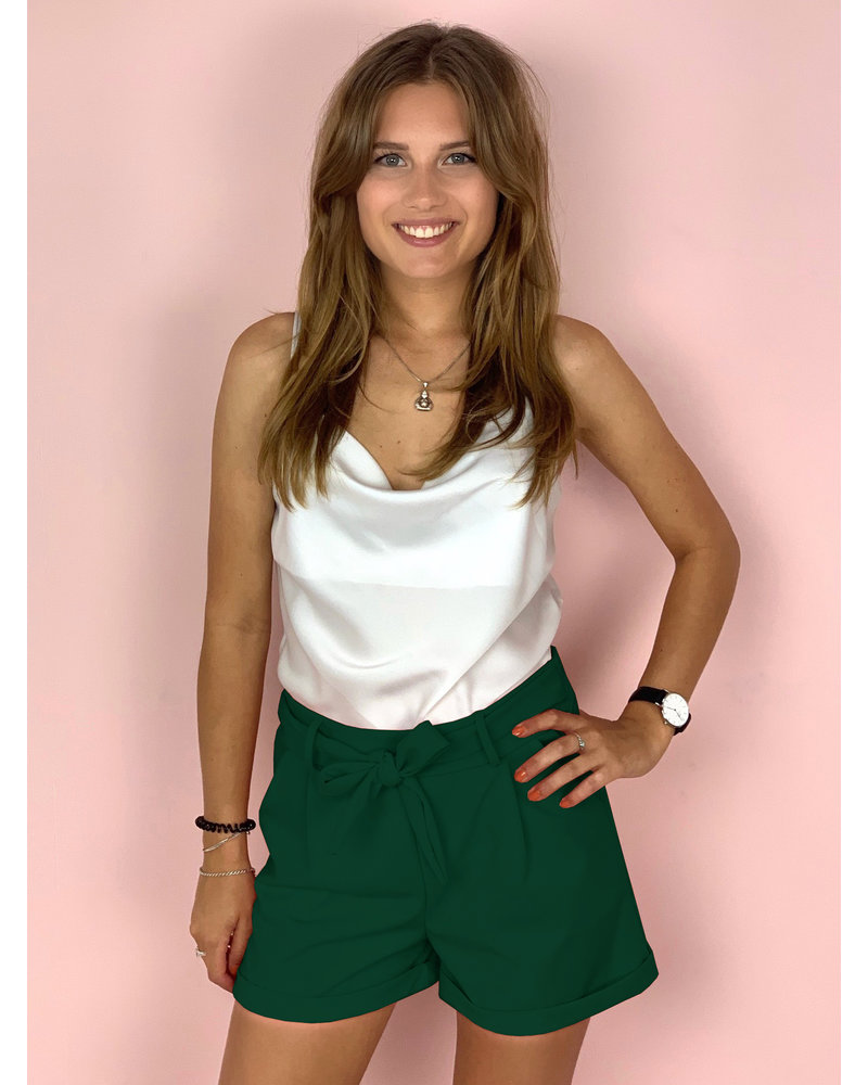 Stylish Summer Short - Dark Green