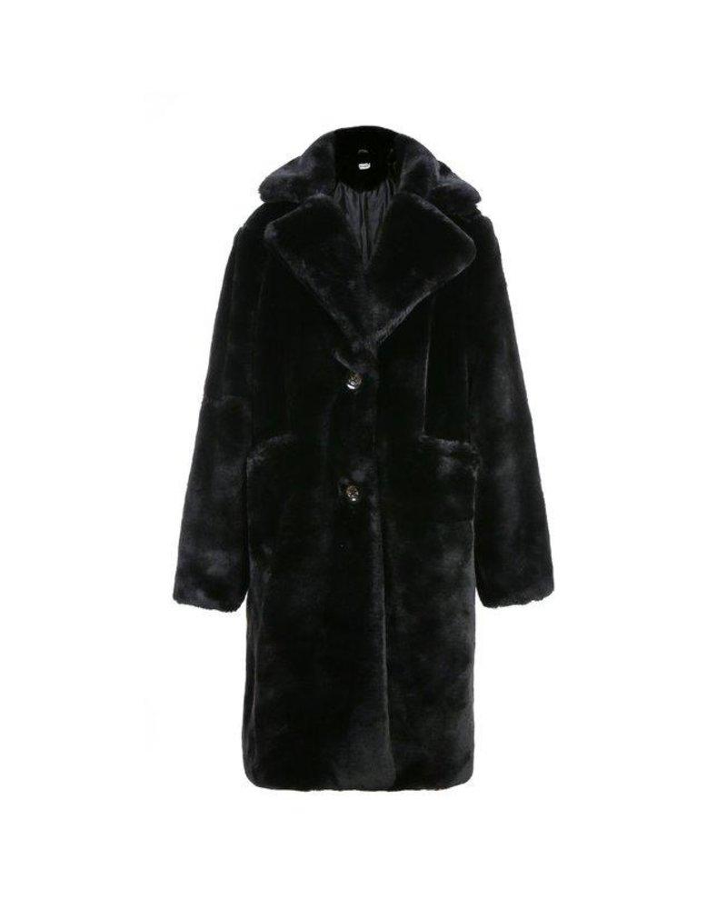 Fabulous Fake Fur Coat - Black (PRE-ORDER)