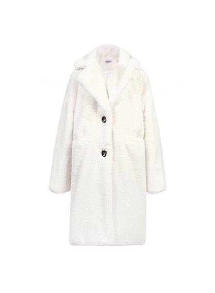 Fabulous Fake Fur Coat - White (PRE-ORDER)
