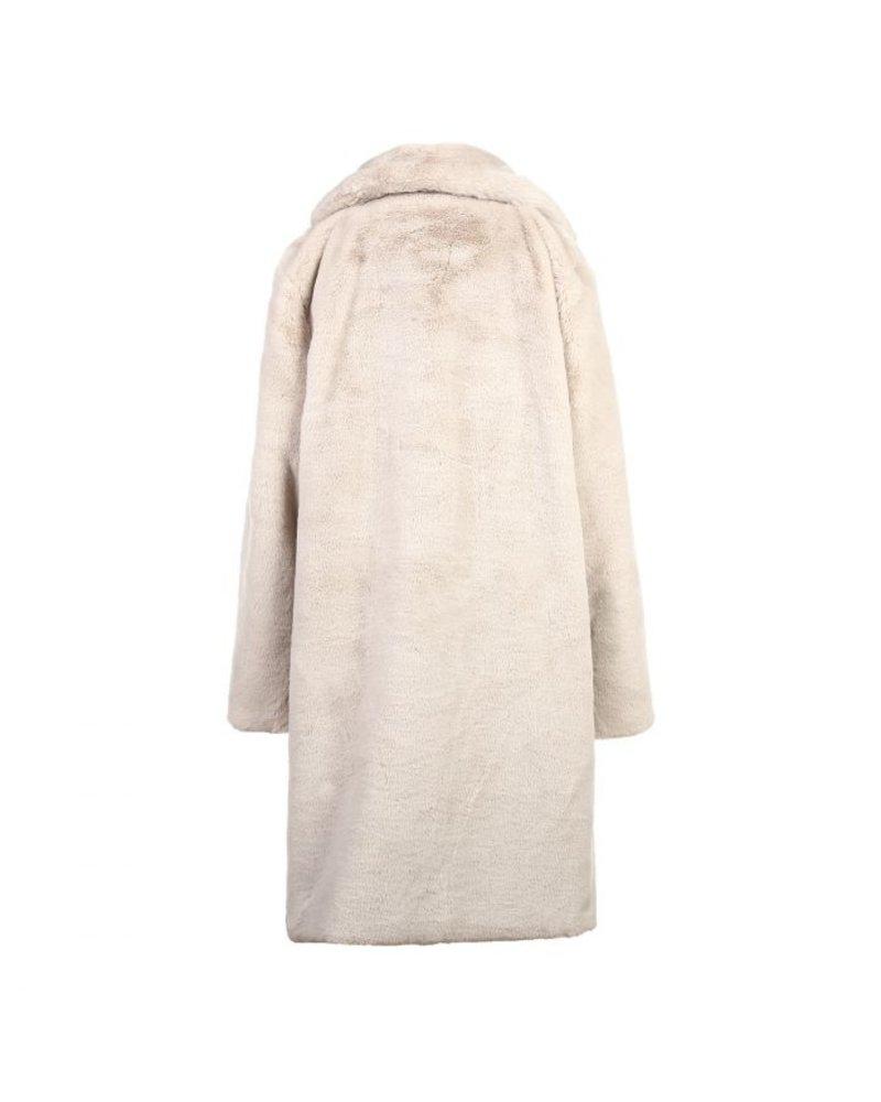 Fabulous Fake Fur Coat - Beige (PRE-ORDER)