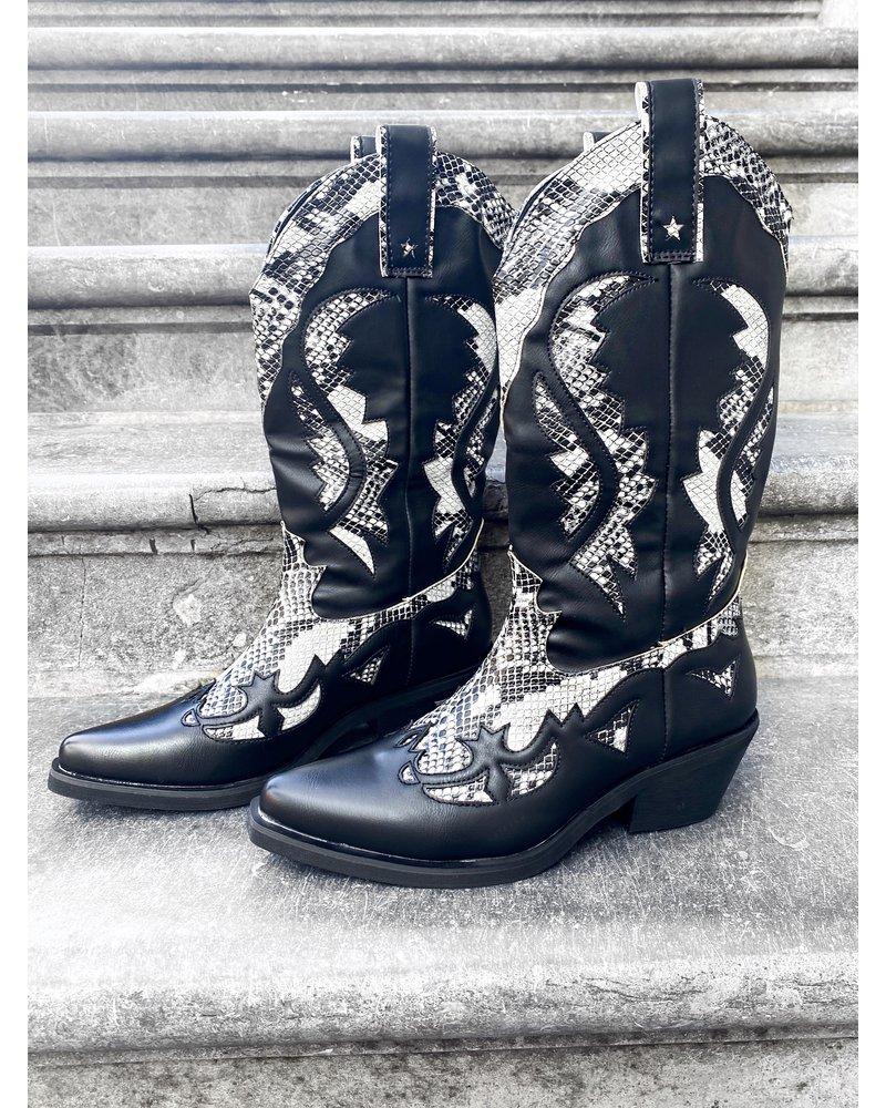 Cowboy Boots - Snake