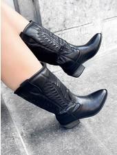 Cowboy Boots - Black