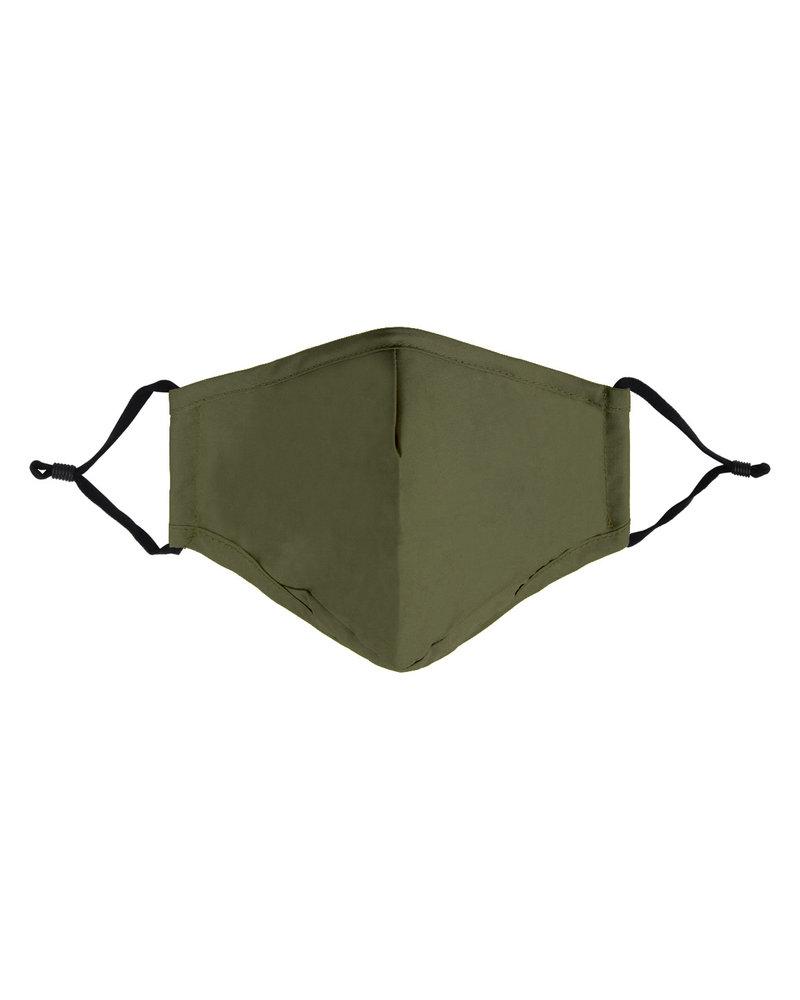 Mondkapje - Effen Army Green