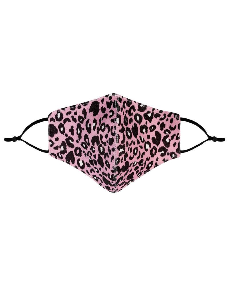 Mondkapje - Panther Pink