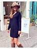 Comfy Sweater Dress - Black