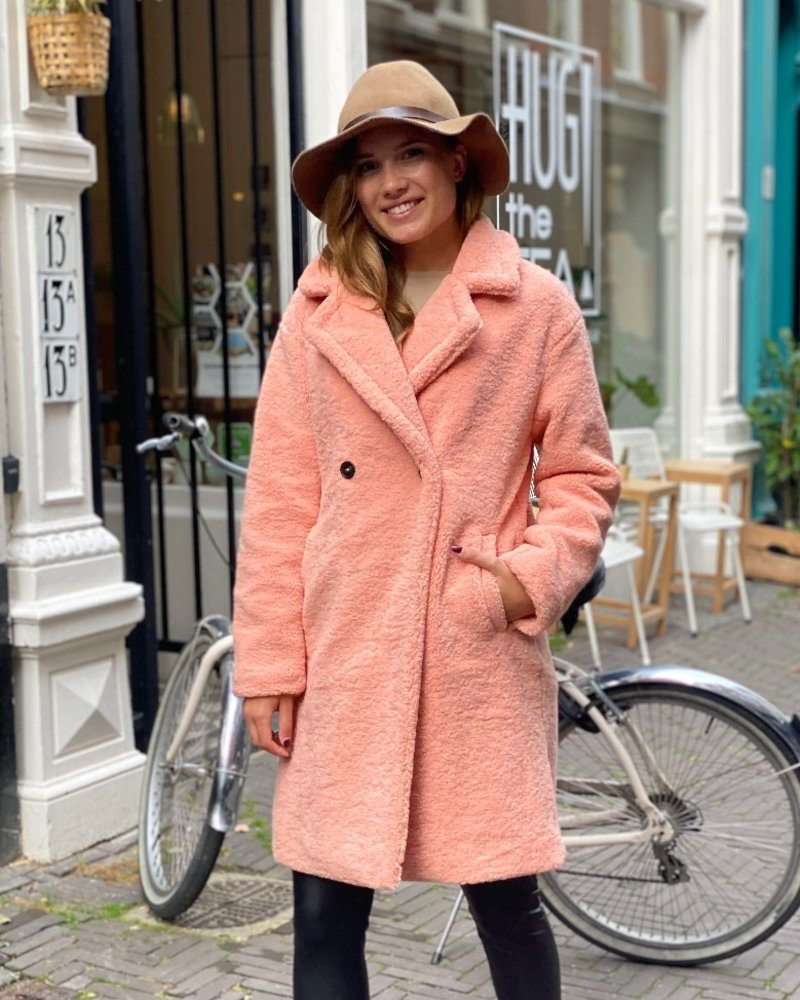 Musthave Teddy Coat - Pink