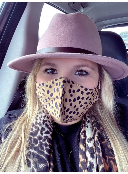 Mondkapje - Cheetah Camel