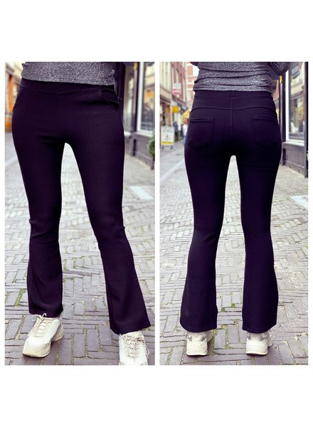 Pretty Flare Pants - Black