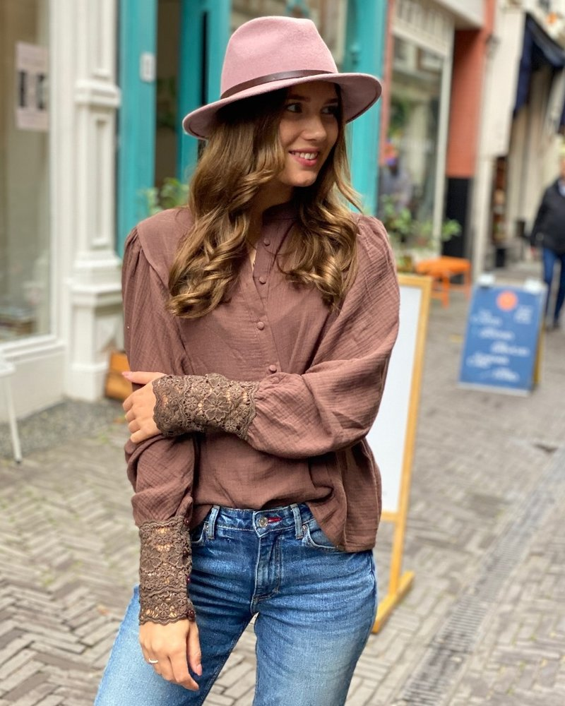 Coco Blouse - Brown