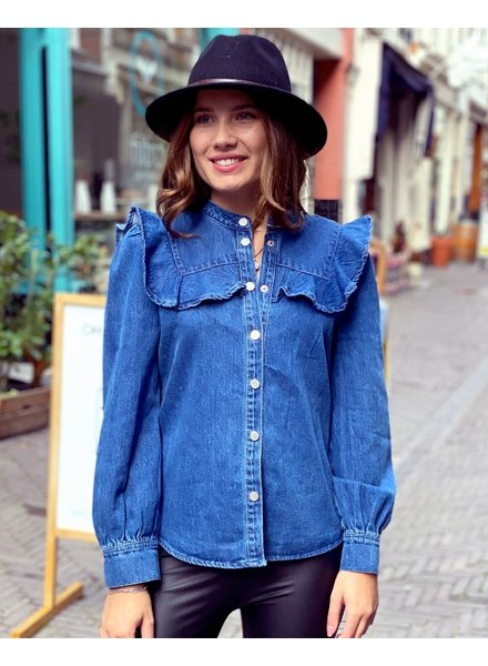 Nina Blouse - Denim