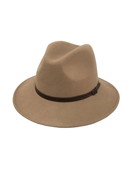 Olivia Hat - Light Camel