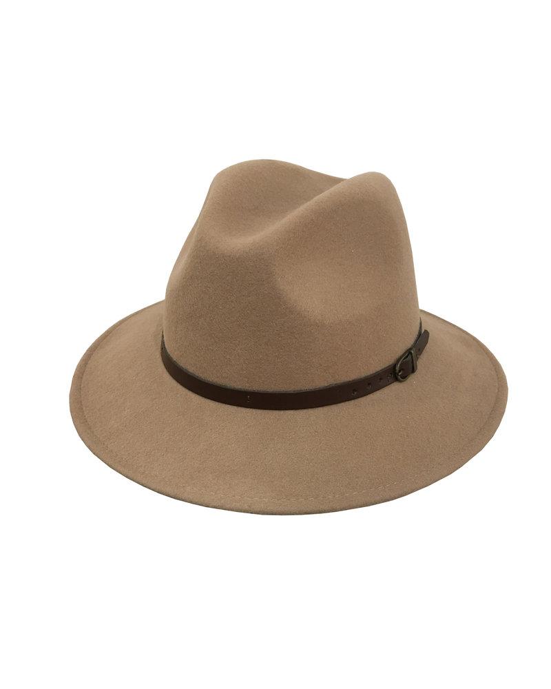 Olivia Hat - Light Camel