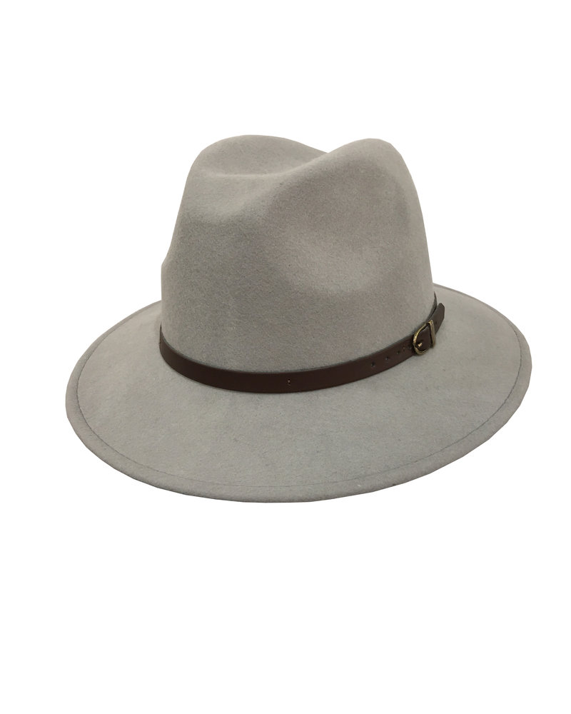 Olivia Hat - Light Grey