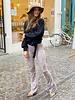 Cheetah Flare - Pink