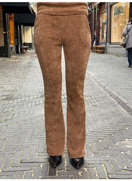 Indy  Ribbed Flare - Camel