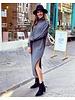 Maxi Col Dress - Grey