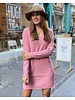Comfy Sweater Dress - Old Pink