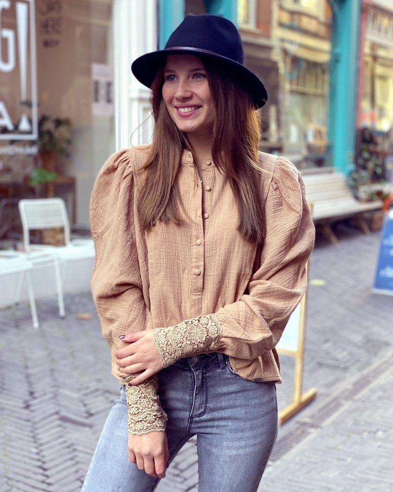 Coco Blouse - Camel