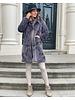 Fabulous Fake Fur Coat -  Dark Grey